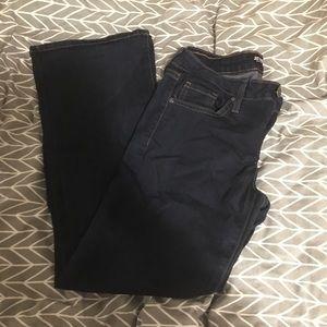 Just Black bootcut dark jeans